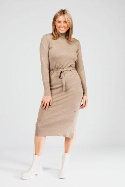 Your Essentials Midi-jurken Ecru AYA