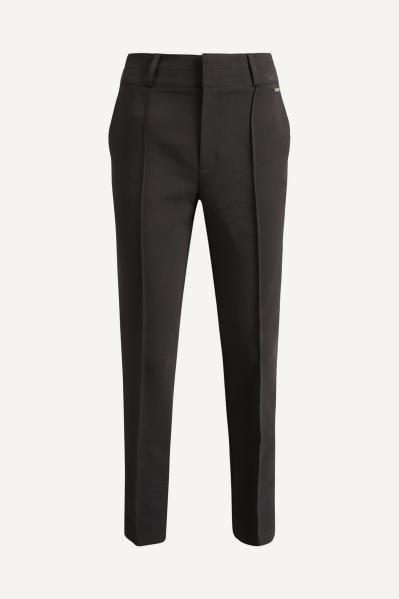Pantalon zwart skinny naadje voor  zwart