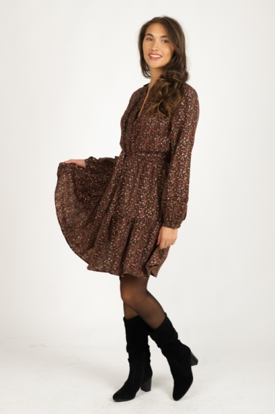 Mini dress long sleeve d.bruin
