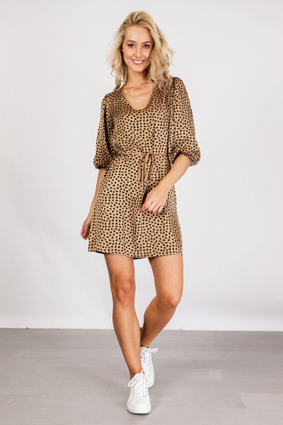 Mini dress 2/3 sleeve d.bruin