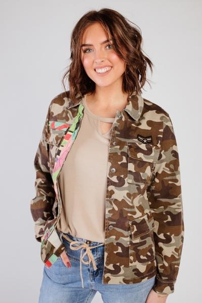 Jacket + tape army