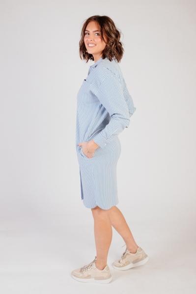 Dress blouse denim