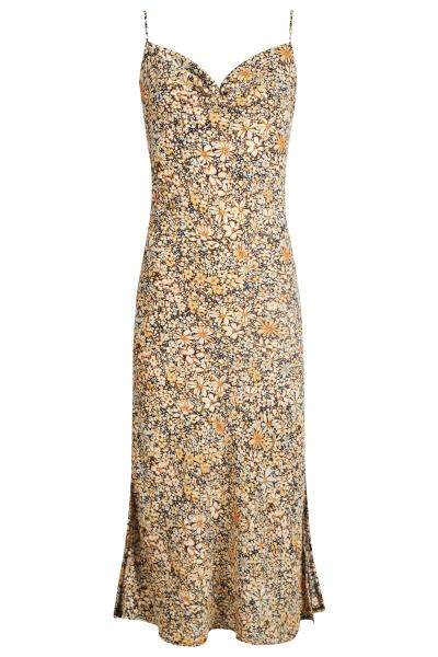 Ambika Maxi-jurken Geel Liselotte