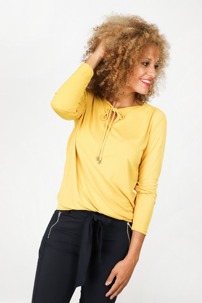 &Co Woman Shirt / Top Geel Loeke