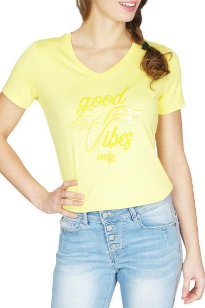 Tramontana Shirt / Top Geel I08-90-403
