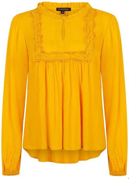 Tramontana Shirt / Top Geel I02-92-301