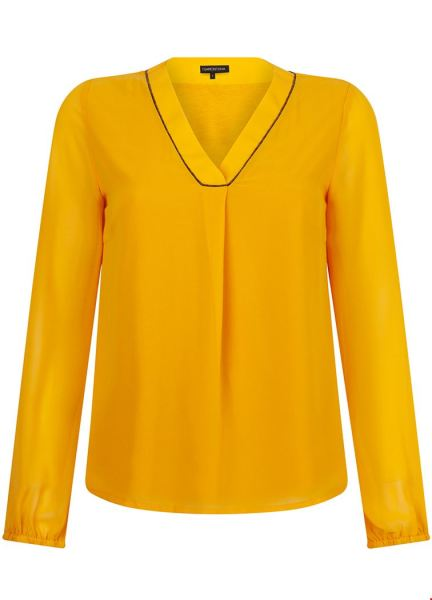 Tramontana Shirt / Top Geel C25-92-301