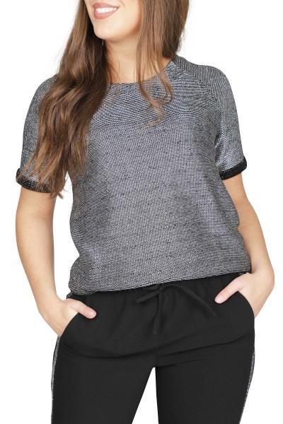 NIKKIE by Nikkie Plessen Shirt / Top Grijs Fay Sweater