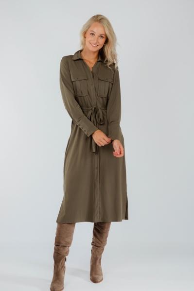 Ambika Maxi-jurk Groen London