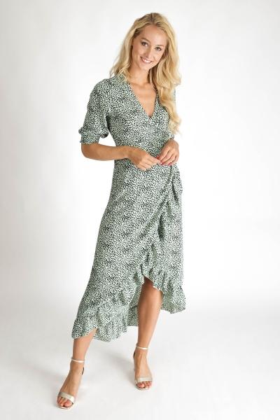 Ambika Maxi-jurken Groen Royal