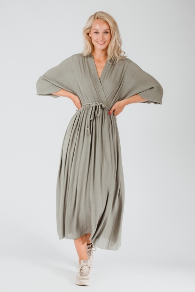Ambika Maxi-jurk Groen Jurk uni