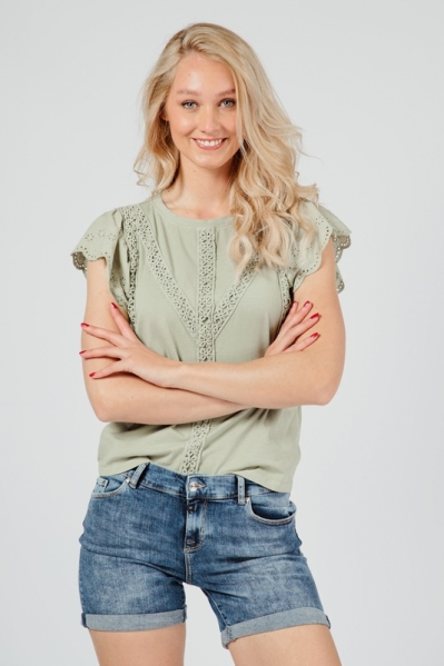 Ambika Shirt / Top Groen
