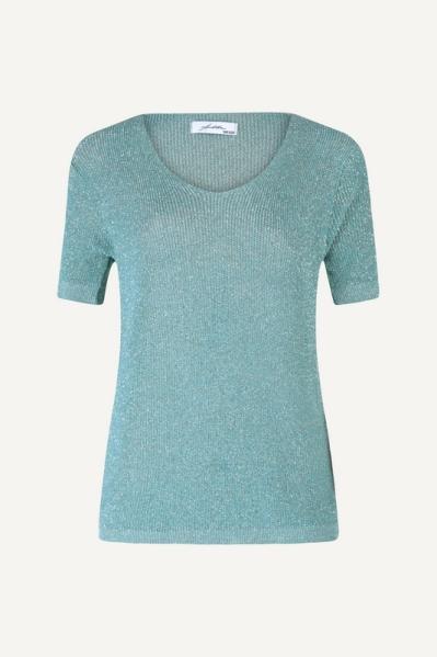 Ambika Shirt / Top Groen Lurex top
