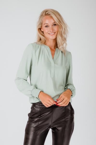 &Co Woman Blouse Groen Alena