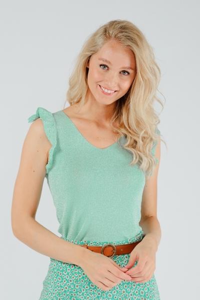 Esqualo Shirt / Top Groen HS21.31217