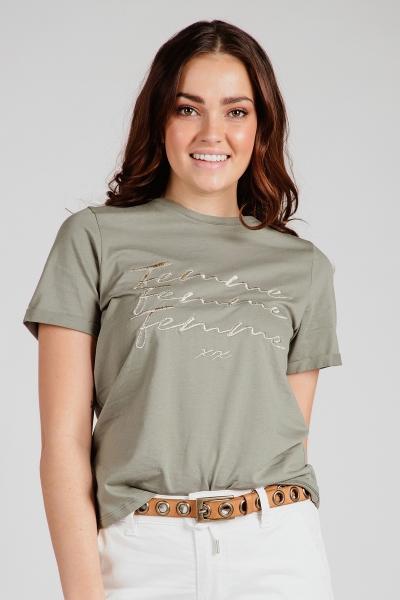 Femme9 Shirt / Top Groen Kim