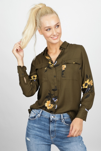 Freequent Blouse Groen Hoxi-SH