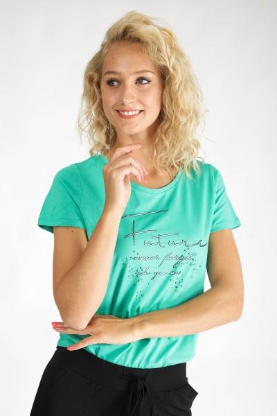 Geisha Shirt / Top Groen 02079-46