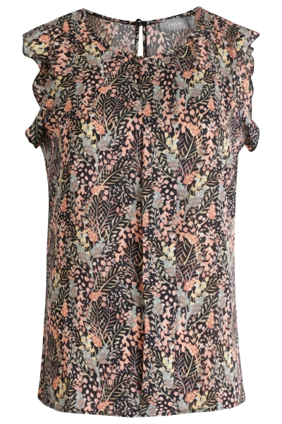 Geisha Shirt / Top Groen 03438-20