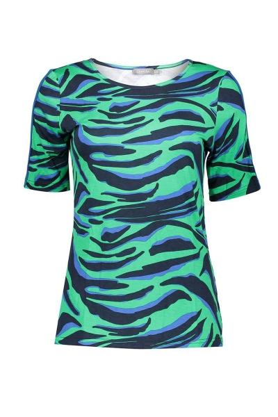 Geisha Shirt / Top Groen 03284-20