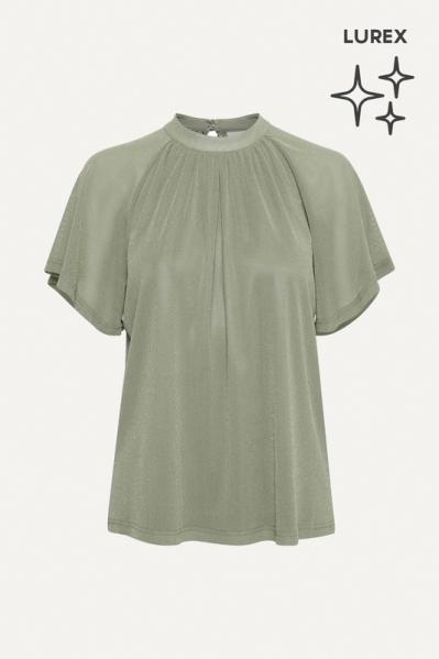 Saint Tropez Shirt / Top Groen 30511192