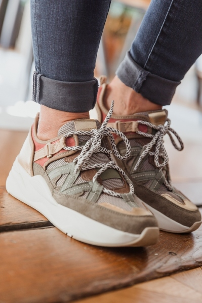 Shoecolate Sneaker Groen 8.21.04.402