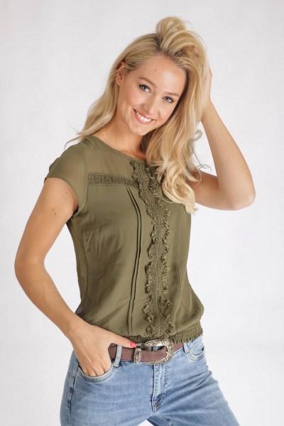 Tramontana Shirt / Top Groen C25-95-305