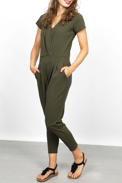 Typical Jill Jumpsuit Groen Vivian
