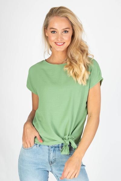 Vila Shirt / Top Groen 14057523