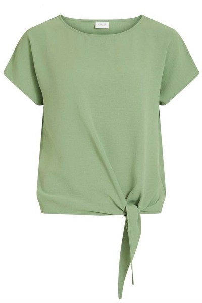 Vila Shirt / Top Groen 14057523