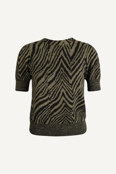 Your Essentials Shirt / Top Groen Ava
