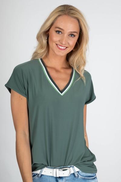 Zoso Shirt / Top Groen Vanessa