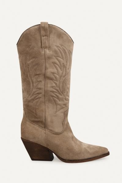 Shoecolate Cowboylaarzen Hak Zand 8.20.08.711