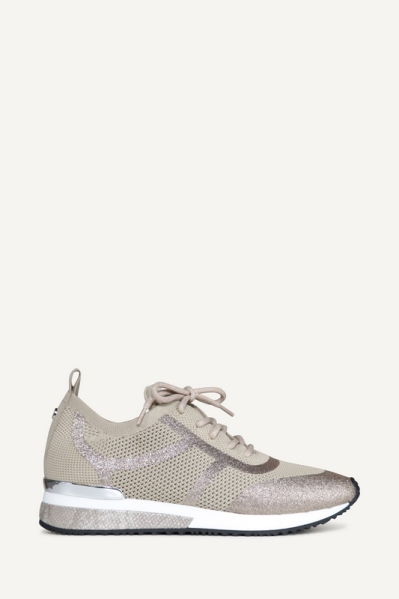 Sneaker glitter zand