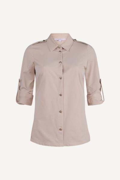 Uni beige military blouse  beige