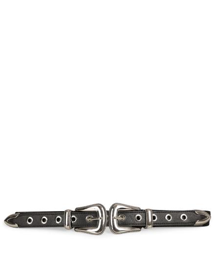 Eyelets zilver elastiek  zilver / l.grijs