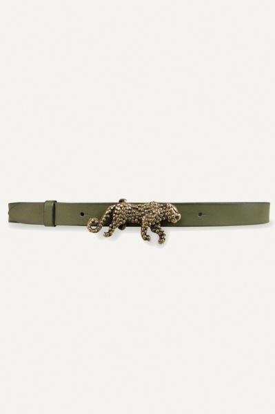 Army + gesp oud goud luipaard  army