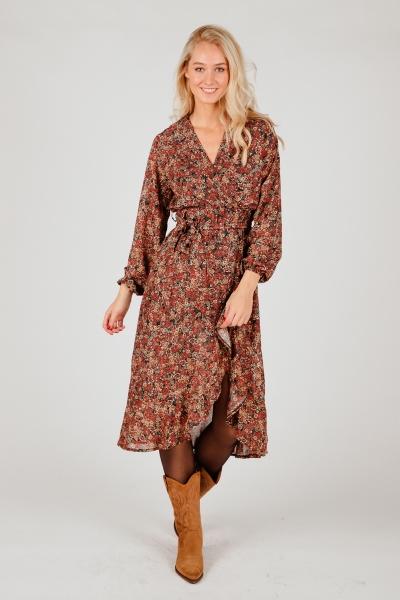 Ambika Maxi-jurken Multicolor Reign