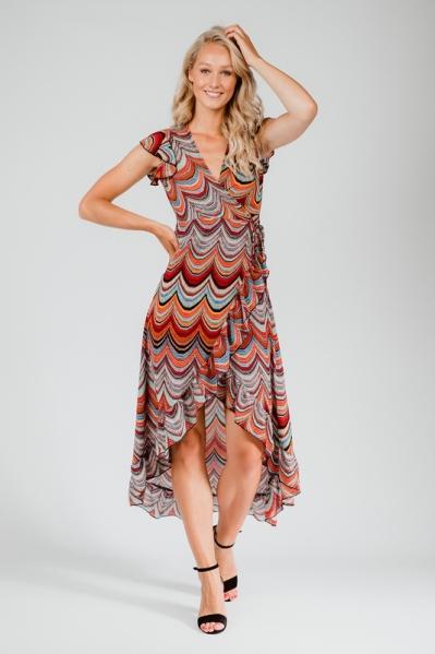 Ambika Maxi-jurk Multicolor Maryam