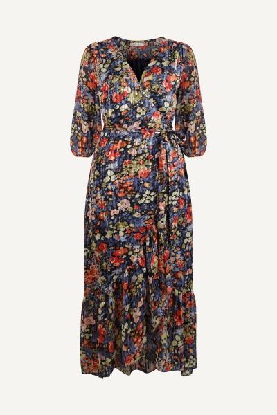 Ambika Maxi-jurken Multicolor Nicole