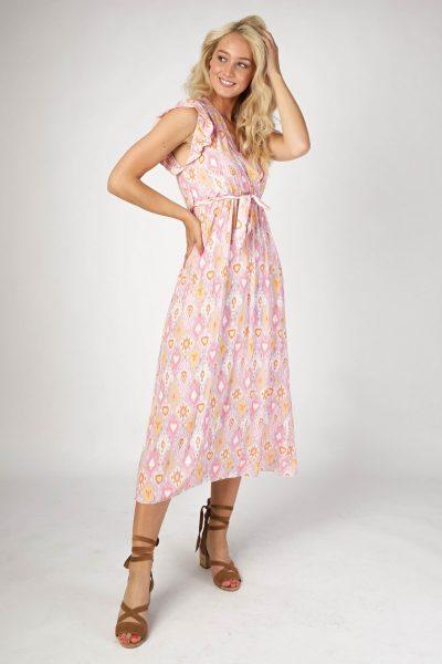 Ambika Maxi-jurken Multicolor 3693