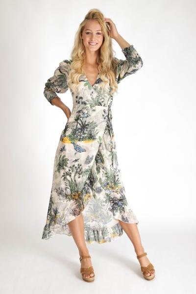 Ambika Maxi-jurken Multicolor Shadow