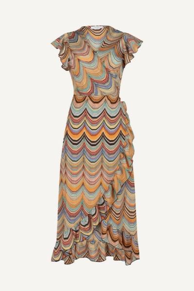 Ambika Maxi-jurk Multicolor Macy