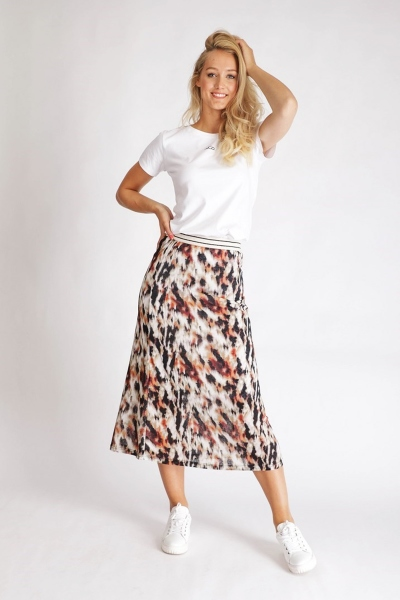 &Co Woman Rok Multicolor Lyss