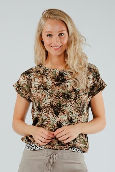 &Co Woman Shirt / Top Multicolor Aniek