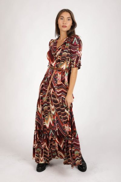 Daily Glamour Maxi-jurken Multicolor 3031