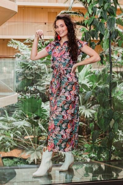 Femme9 Maxi-jurken Multicolor Simone
