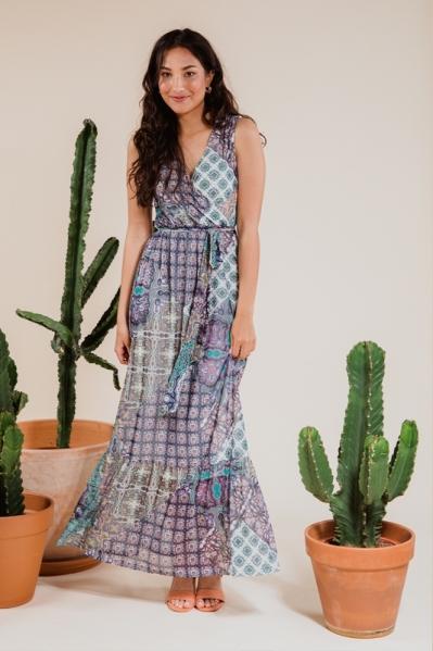 Femme9 Maxi-jurk Multicolor Alex