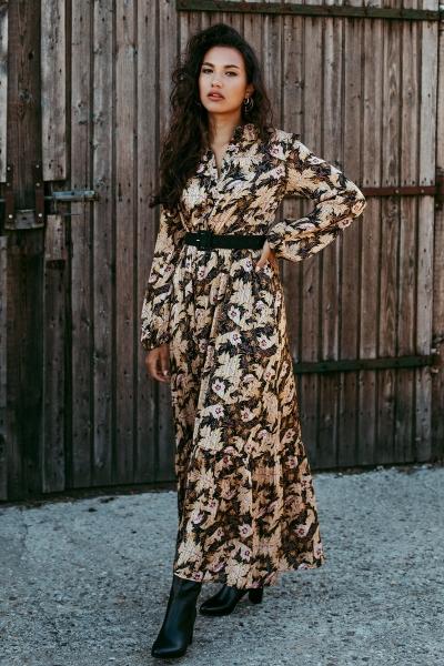 Femme9 Maxi-jurken Multicolor Elaine