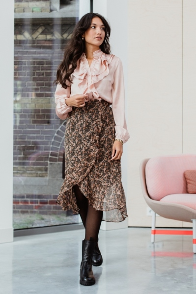 Femme9 Midi-jurken Multicolor PRIYA